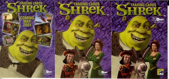 History Of Trading Cards Shrek Trading Cards