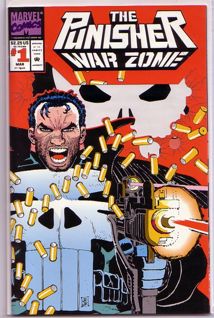 The Punisher War Zone Summer Special Volume 1 #2 Marvel Comics August 1992 NM